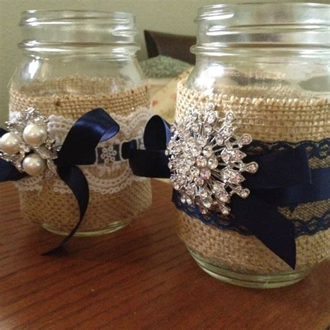 burlap and lace centerpieces burlap and lace wedding centerpieces happily after