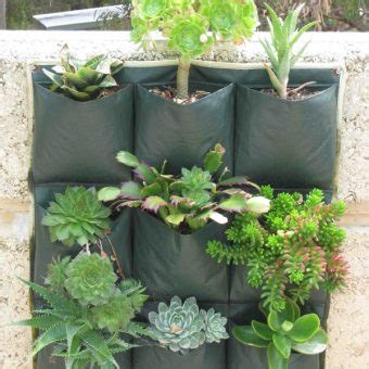 Dijamin Wall Planter 6 Kantong wall planter bag 9 kantong bibitbunga