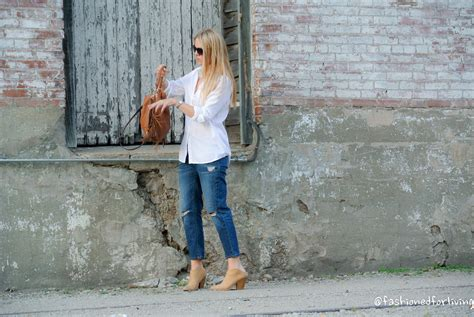 Z Ra Audra fashioned for living cropped with white button up and mules