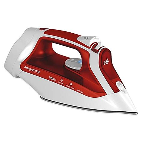 bed bath and beyond irons buy rowenta 174 dw2190 accesssteam cord reel iron from bed