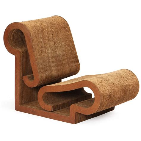 Frank Gehry Furniture by Early Easy Edges Lounge Chair By Frank Gehry For Sale At