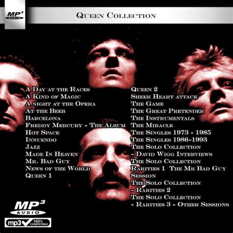 download mp3 from queen queen mp3 cd collection
