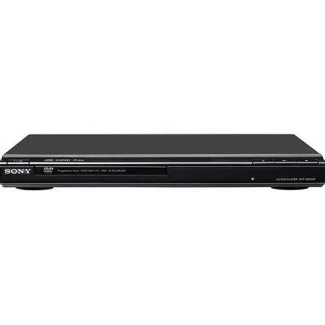 Dvdr Sony sony dvp sr200p dvd cd player black dvpsr200p b b h photo