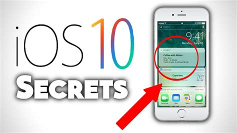 top 5 secret features on ios 10 iphone 7 and iphone 7 plus facts about iphone