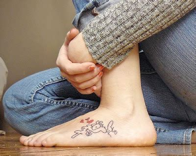 tattoo healing time ankle unique footer tattoo teens tattooes