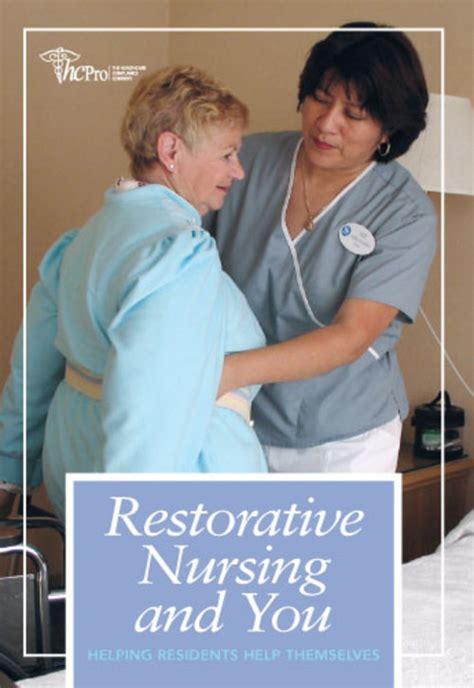 Restorative Nursing Assistant Description by Ahca Publications Store