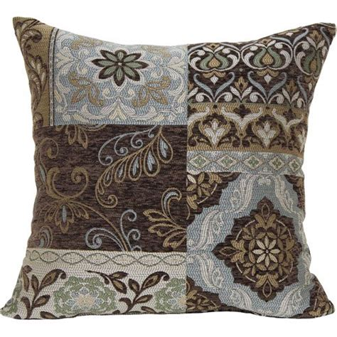 walmart pillows decorative better homes and gardens blue and brown floral decorative