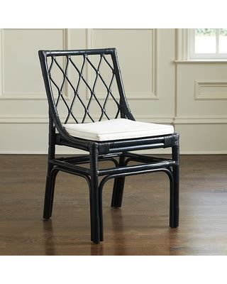 Ballard Dining Chairs Spectacular Deal On Ballard Designs Rattan Dining Chairs Set Of 2 Navy