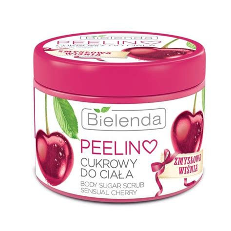 Bodyscrub Cherry bielenda sugar scrub cherry 200g cosmetics bath peelings supplements and