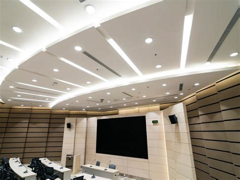 Gobain Ceiling by Stock Exchange Thailand Headquarters Gobain Gyproc