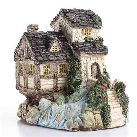 Ceramic Cottage miniature winding ceramic cottage miniatures sale sales