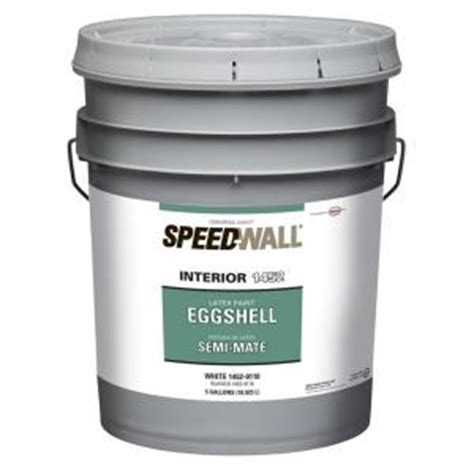 speedwall 5 gal eggshell antique white interior paint