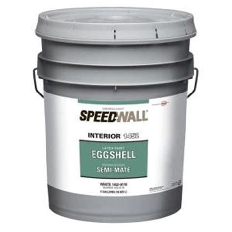 home depot paint eggshell finish speedwall 5 gal eggshell antique white interior paint