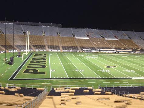 ross ade stadium lights attitude specialty lighting purdue university football