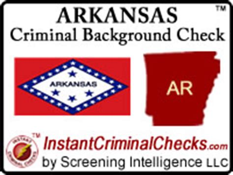 Vermont Criminal Background Check Arkansas Criminal Background Checks For Pre Employment