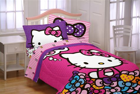 hello kitty comforter twin sanrio hello kitty twin full reversible comforter