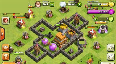 layout coc town hall level 4 clash of clans builder best town hall 4 layouts heavy com