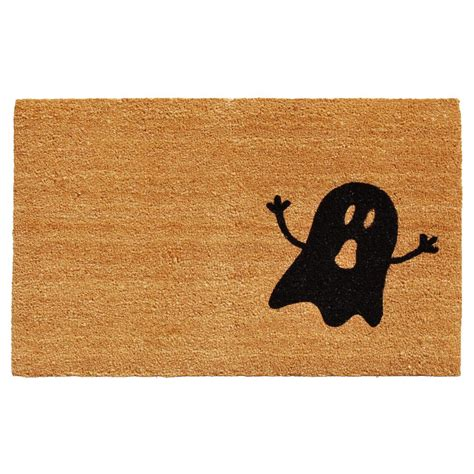 Coir Doormat by Home More Black Ghost 17 In X 29 In Coir Door