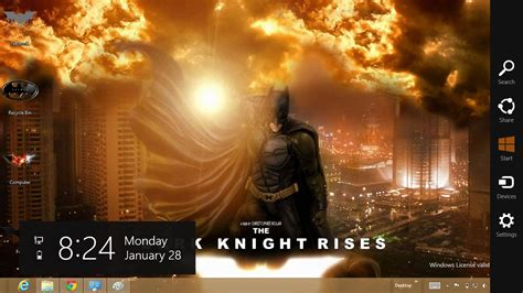 the dark knight themes for windows 10 download gratis tema windows 7 batman the dark knight