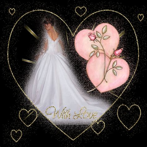 Wedding Animations Free by Glitter Gif Brides Picgifs