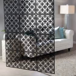 Hanging Room Divider Panels Interwoven Decorative Panel Set Of 4 16w X 16h In Each At Hayneedle