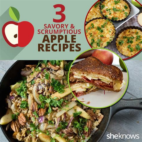 3 savory apple recipes you simply can t resist