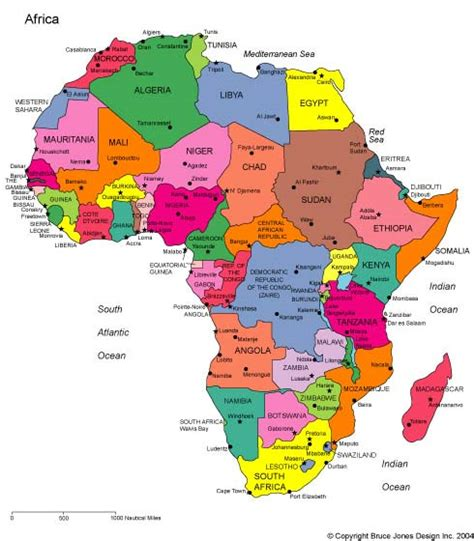 africa map 2012 maps for design editable clip powerpoint maps