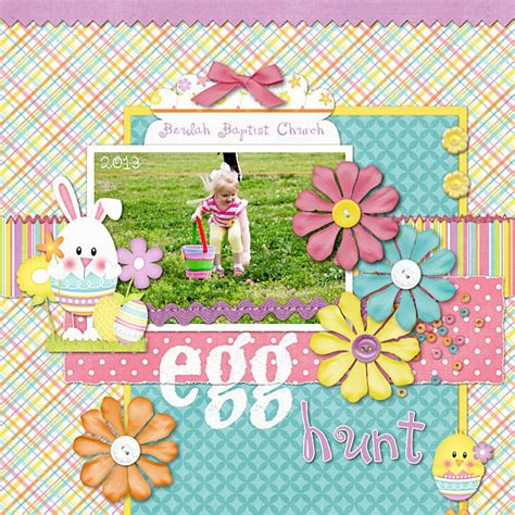 scrapbook layout easter 17 best images about easter scrapbook layouts on pinterest