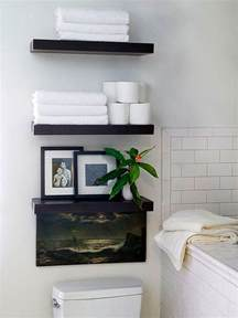 Bathroom Shelves Over Toilet by 20 Creative Bathroom Towel Storage Ideas