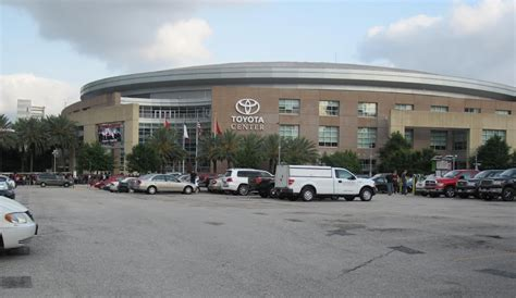 Toyota Parking Panoramio Photo Of Toyota Center Seen From Parking Lot