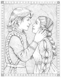 busy drawing illustration blog romeo and juliet and process