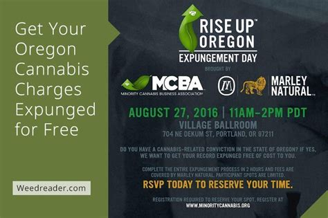 Expunge Criminal Record Oregon Get Your Oregon Cannabis Charges Expunged For Free