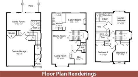 floor plan renderings floor plan renderings lucas works