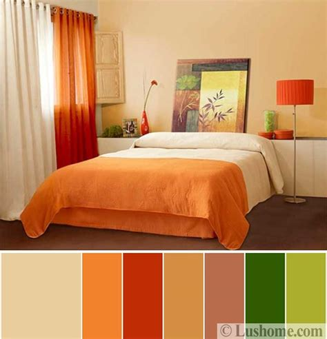 orange and green bedroom 5 beautiful orange color schemes to spice up your interior