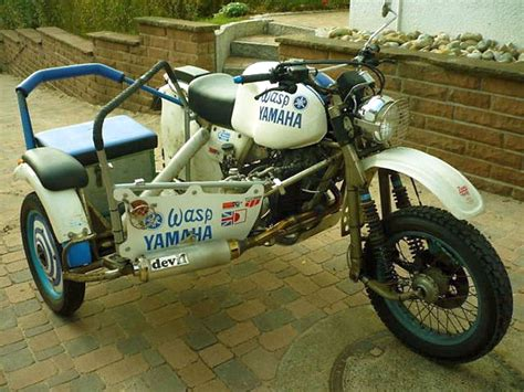 Motorradrennen Mit Beiwagen by Endurogespanne Motorr 228 Der Yamaha Srx600 Tt600 Enduro