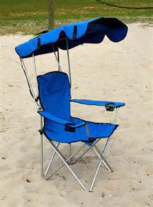 Canopy Camping Chair by Folding Canopy Chair Beach Camping Chair Xl Outdoor