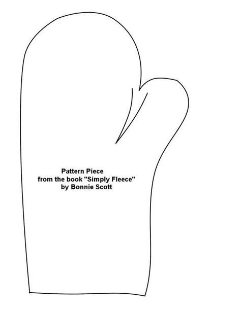 Printable Mitten Pattern