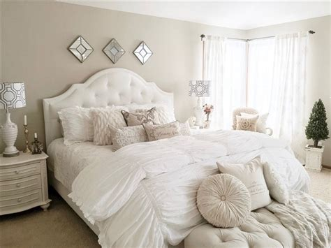 master bedroom decorating ideas soft white bedding