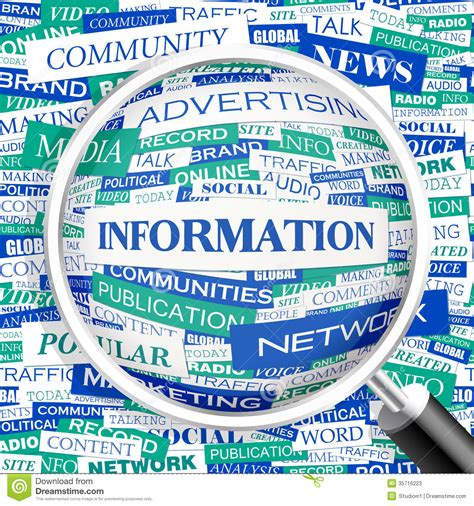 world information information stock photos image 35716223