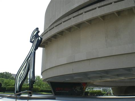 Hirshhorn Museum And Sculpture Garden by Sign Near The Front Area Of The Museum Picture Of