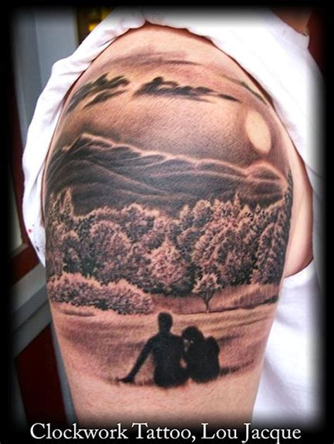mountains drawing tattoo images