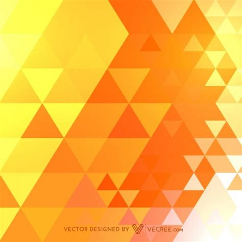 triangle pattern vector free download decorative pattern with golden triangles vector free