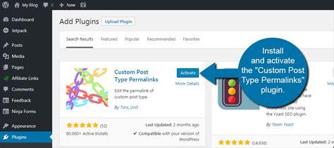 tutorial wordpress custom post types how to change the permalink structure of wordpress custom