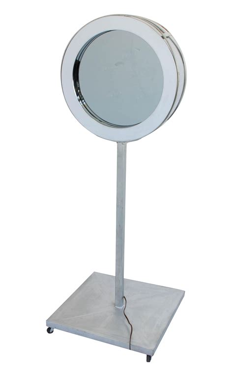 curtis jer 233 infinity mirror with floor mount chairish