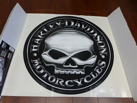 Harley Davidson Trailer Decals by Harley Davidson Willie G Large Trailer Decal Sticker