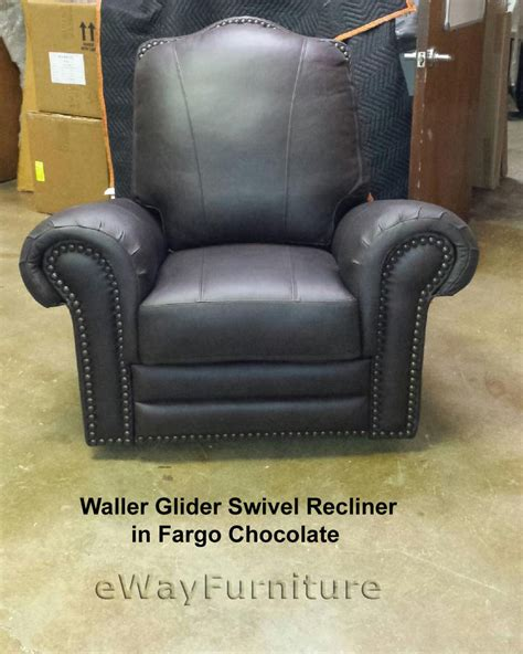 leather recliners made in usa 100 hand cut top grain leather fargo chocolate recliner