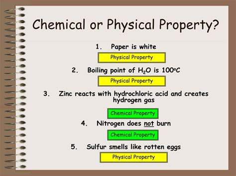 is color a physical or chemical property ppt matter powerpoint presentation id 203249