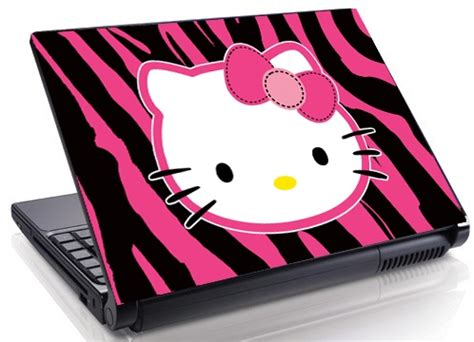 Hello Computer Covers by Familydecals Hello Zebra 14 12 15 4 Quot Laptop Skin