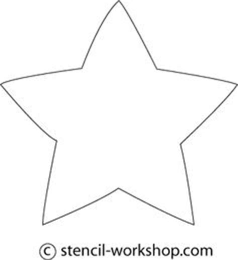 5 inch star pattern use the printable outline for crafts