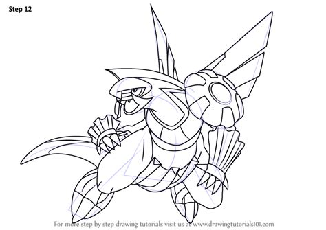 pokemon coloring pages palkia step by step how to draw palkia from pokemon